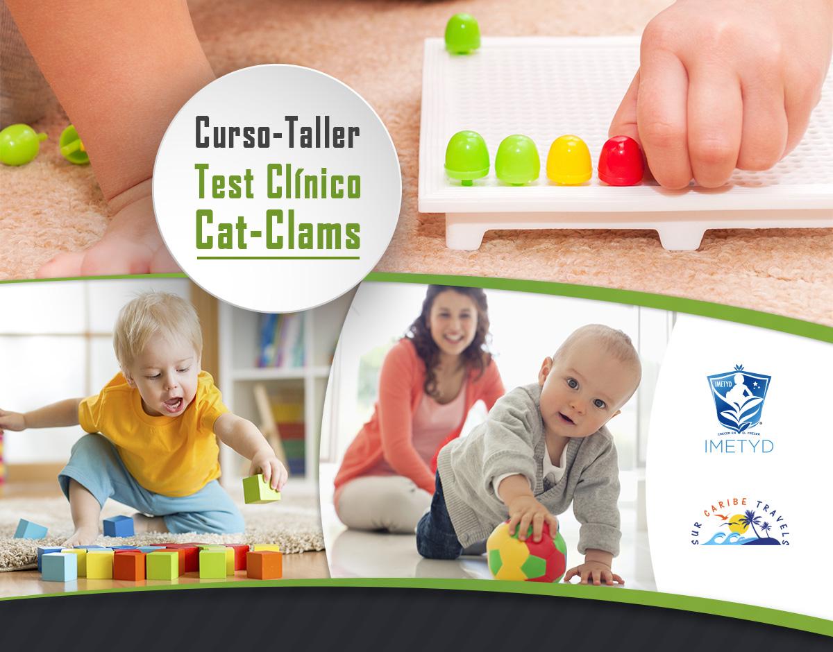 Course Image Módulo-VIII. Cat Clams. (Clinical Adaptative Test)